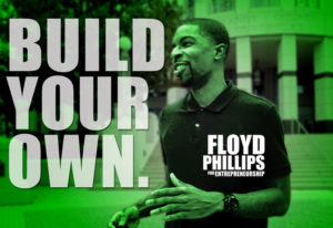 Floyd with build your own logo
